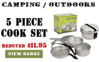 Summit 5 Piece Camping Cook Set
