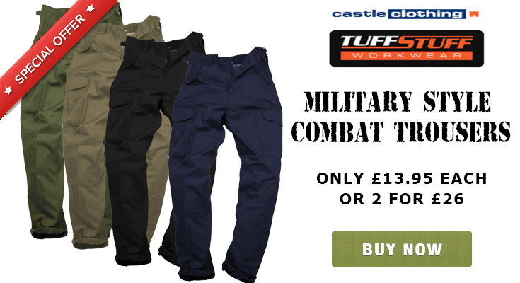 2 for 26 on Combat Trousers