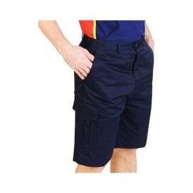 AA753 Cargo Work Shorts Navy