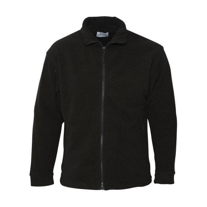 Absolute Apparel Black Heritage Full Zip Fleece