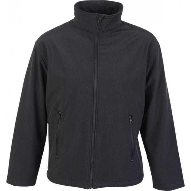 Absolute Apparel Men Adults Woven Stretch Wind Resistant Softshell Classic
