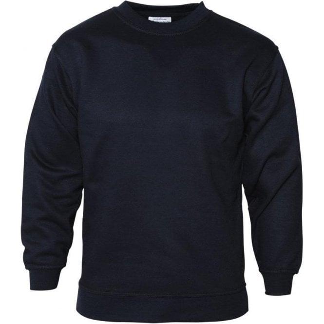 Absolute Apparel Navy Sterling Sweatshirt 300g