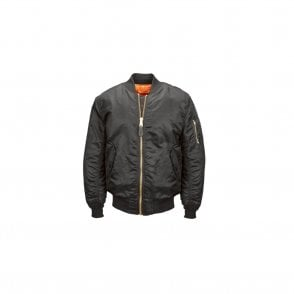 Black MA-1 Original Flight Bomber Jacket
