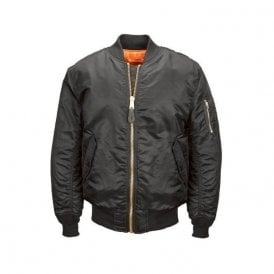MA-1 Original Flight Bomber Jacket Black