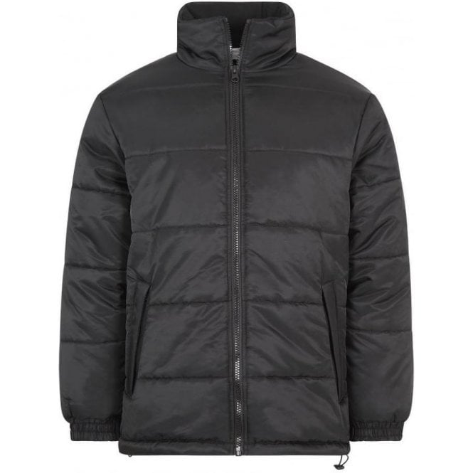 Army&Navy Puffer Jacket Black