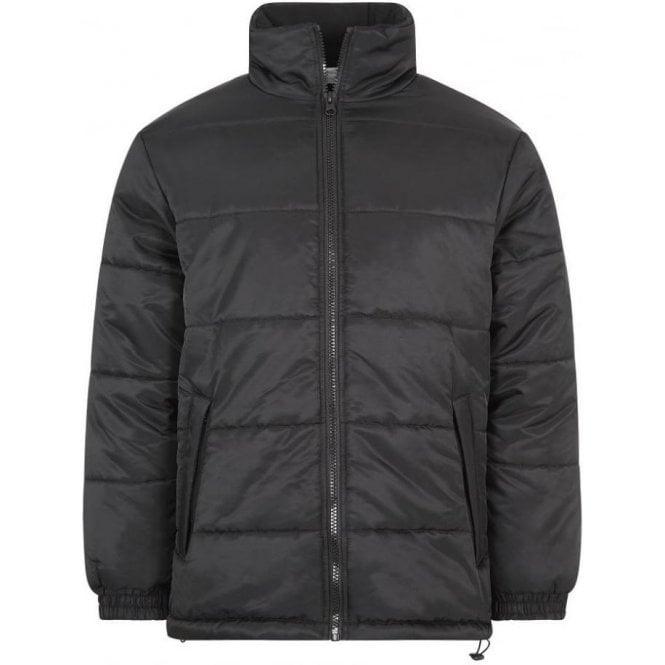 Army&Navy Puffer Jacket Black