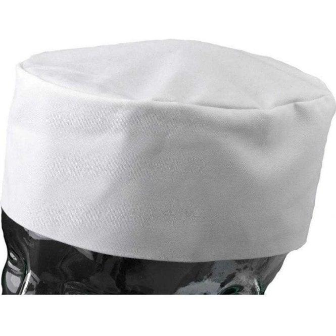 Army&Navy White Chefs Skull Cap