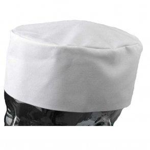 White Chefs Skull Cap
