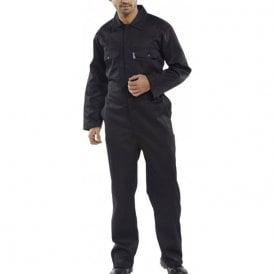 Click Regular Boilersuit Black