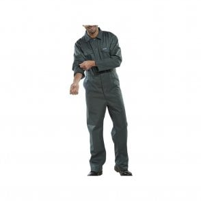 Polycotton Boiler Suit Green