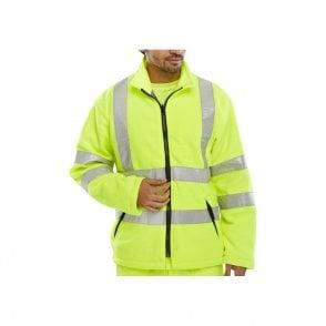Yellow Hi-Vis High Visibility Fleece