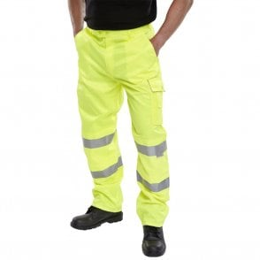 Yellow Hi-Viz High Visibility Trousers