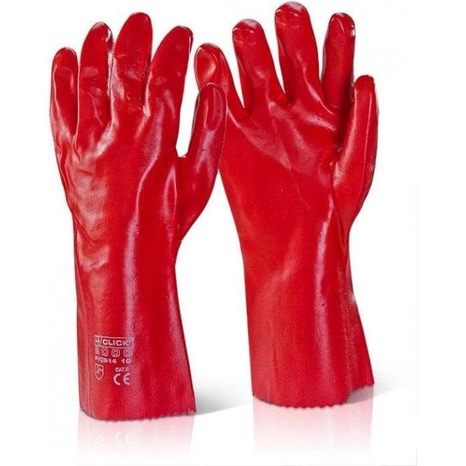 BeeSwift Gauntlet PVC Gloves - Long Open Cuff