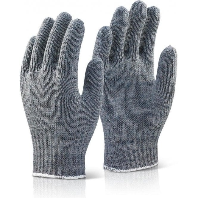 BeeSwift Grey Mixed Fibre Gloves