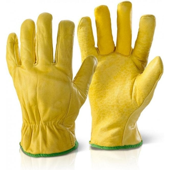 BeeSwift Leather Rig Drivers Gloves