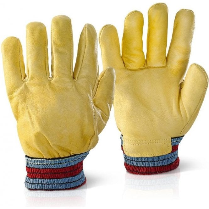 BeeSwift Leather Rig Freezer Gloves