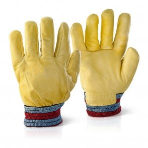 Leather Rig Freezer Gloves