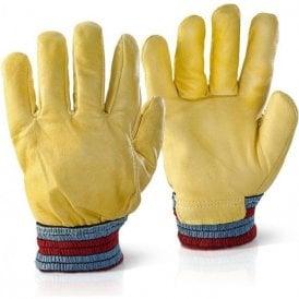 Leather Rig Freezer Gloves