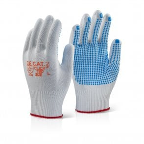 Tronix Blue Dot Grip Gloves 10 Pack