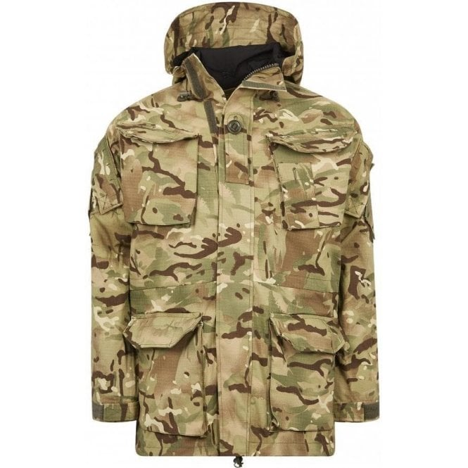 British Army SAS PCS Windproof MVP Lined Combat Smock Jacket