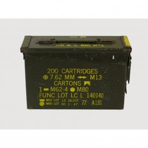 Genuine 30 Cal Calibre Ammo Box