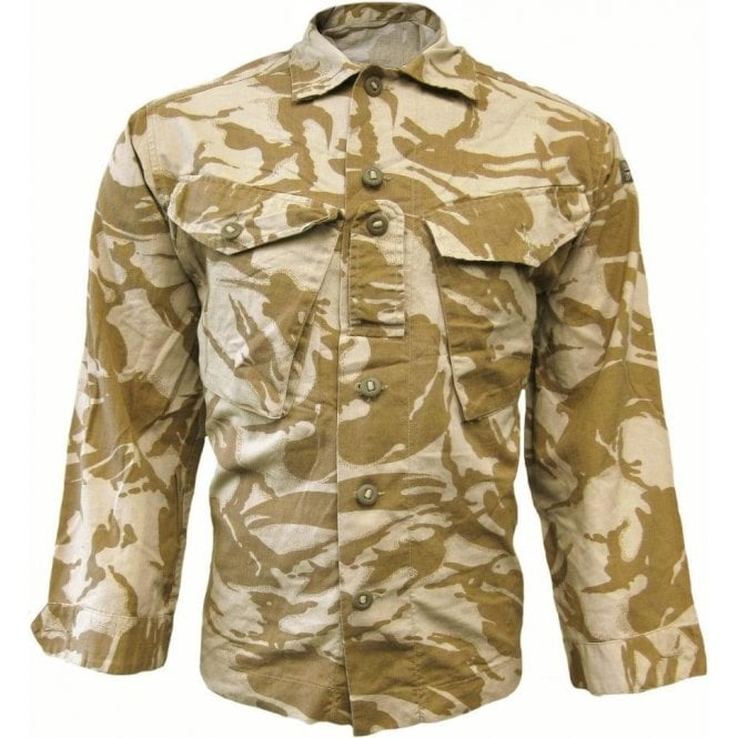 British Army Surplus Genuine British Army Desert Combat Shirt