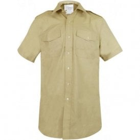 Genuine British Army Fawn Short Sleeve Shirt