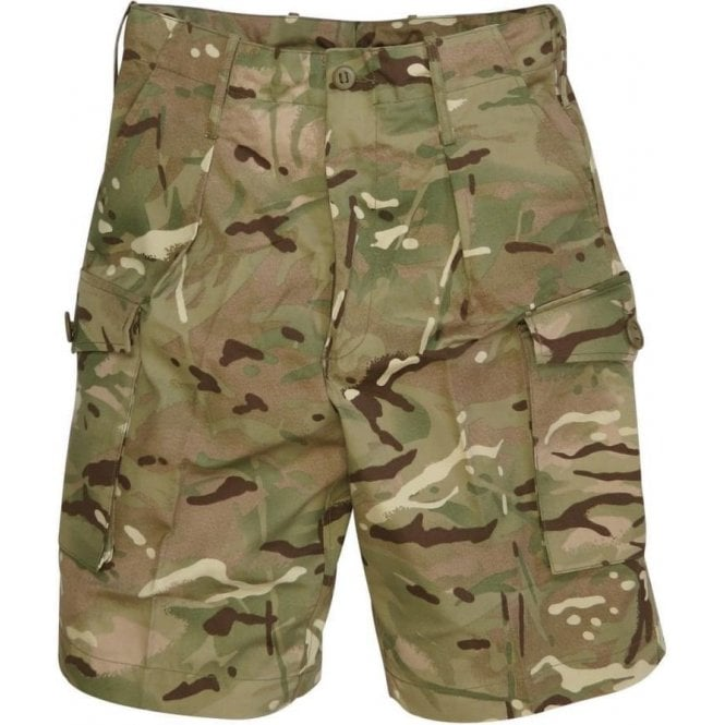 British Army Surplus MTP Camouflage Combat Shorts
