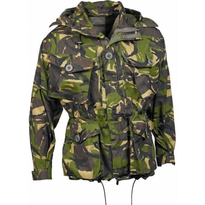 British Army Surplus Sold 95' Wind-proof DPM Woodland Smock Jacket
