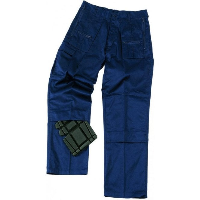 Castle Action Work Trousers Navy
