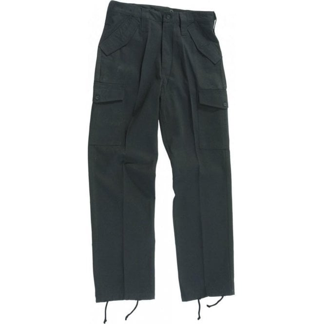 Castle Military Style Combat Trouser Black