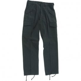 Military Style Combat Trouser Black