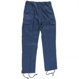 Military Style Combat Trouser Navy