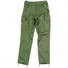 Military Style Combat Trouser Olive Green