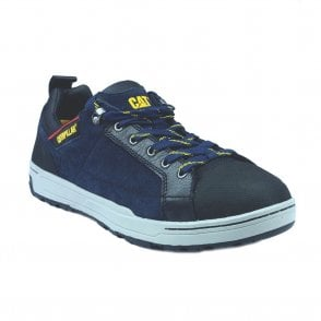 Navy Brode Low Safety Trainer Shoes