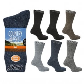 Country Pursuit Hike Socks (3 pack)