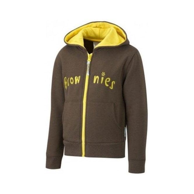 David Luke Brownie Hooded Girl's Sweatshirt