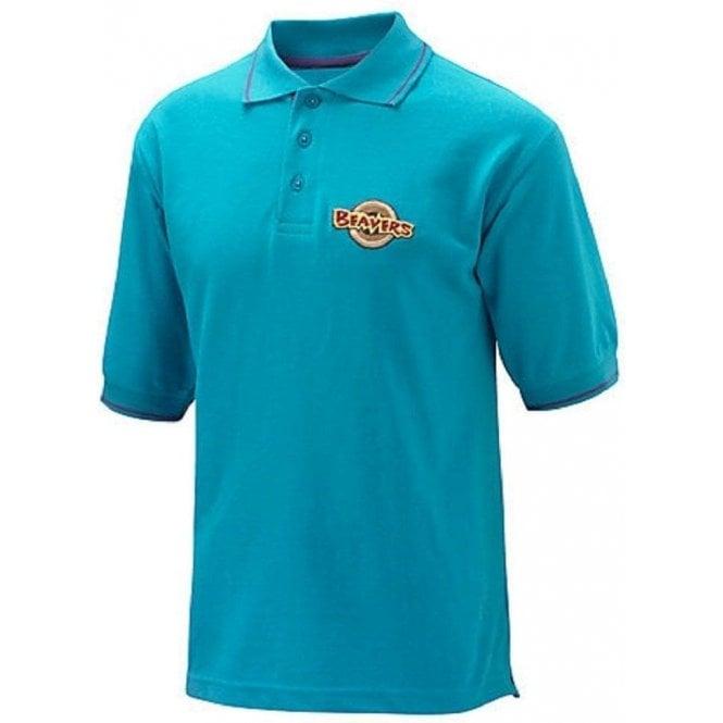 David Luke Official Beaver Boy Scouts Uniform Turquoise Polo Shirt Top