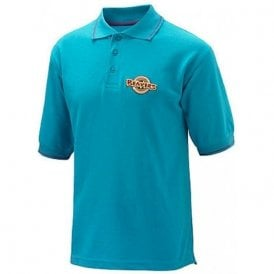 Official Beaver Boy Scouts Uniform Turquoise Polo Shirt Top