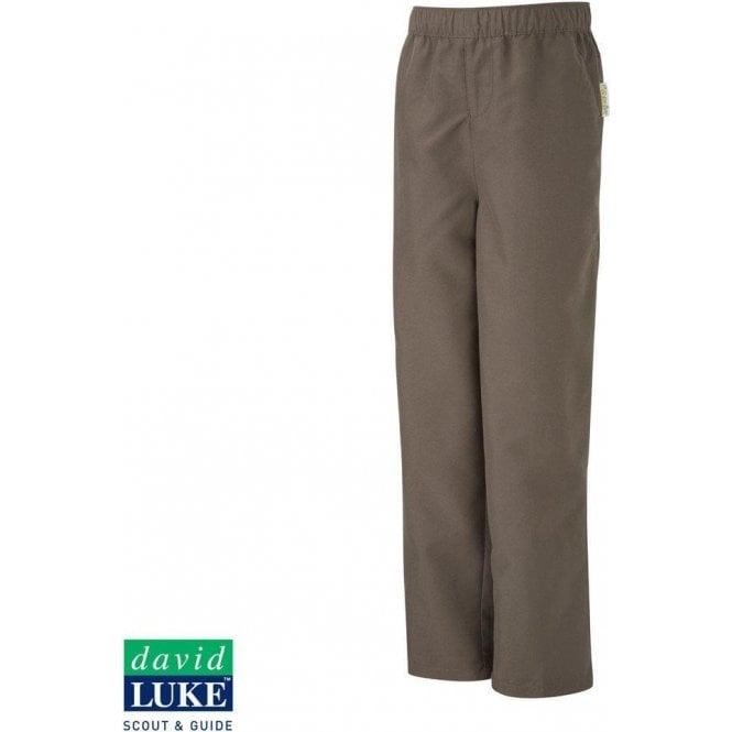 David Luke Official Brownies Girl Guides Uniform Girls Brown Trousers