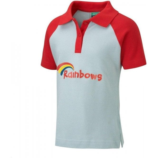 David Luke Rainbows Girl's Polo Shirt
