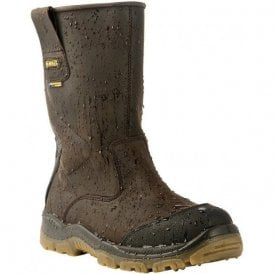 Brown Tungsten Safety Boot