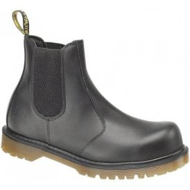 2228 Black Leather Dealer Safety Boot