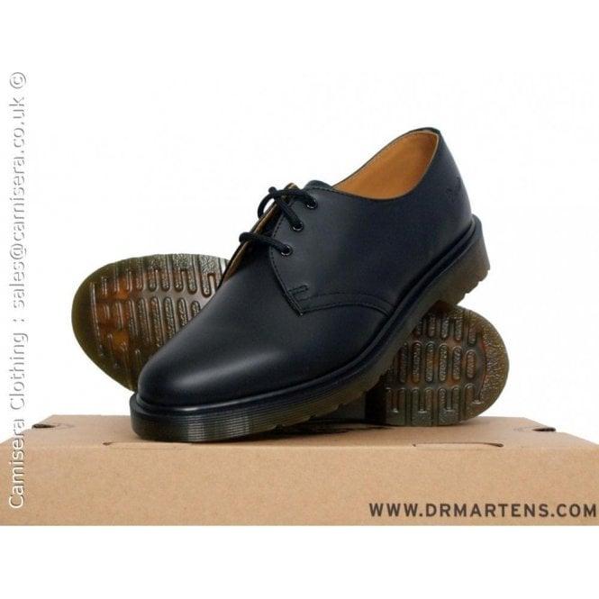 Dr. Martens Black 1461, Unisex-Adults' Lace-Up Flat Shoe