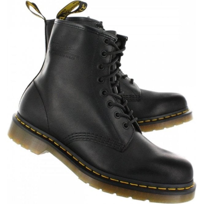 Dr. Martens Black 8 Eye 1460 Original, Unisex-Adults' Boots