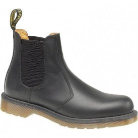 Black Dealer 2976 Smooth Chelsea Boots
