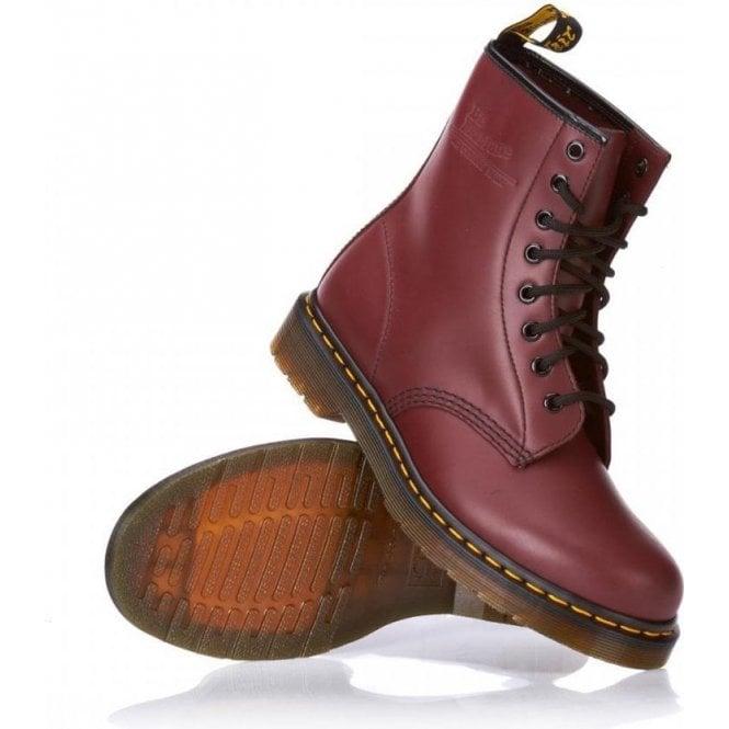 Dr. Martens Cherry 8 Eye 1460 Original, Unisex-Adults' Boots