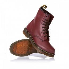 Cherry Red 8 Eye Boot