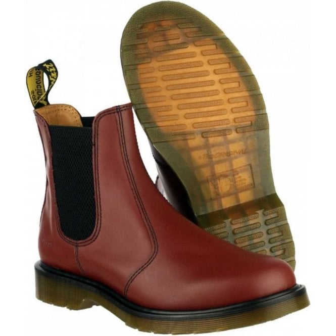 Dr. Martens Cherry Red Dealer Boots