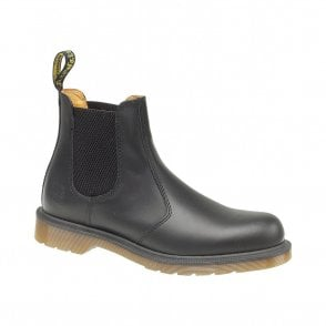 Dr Martens DM'S 2976 Black Dealer Smooth Chelsea Boots